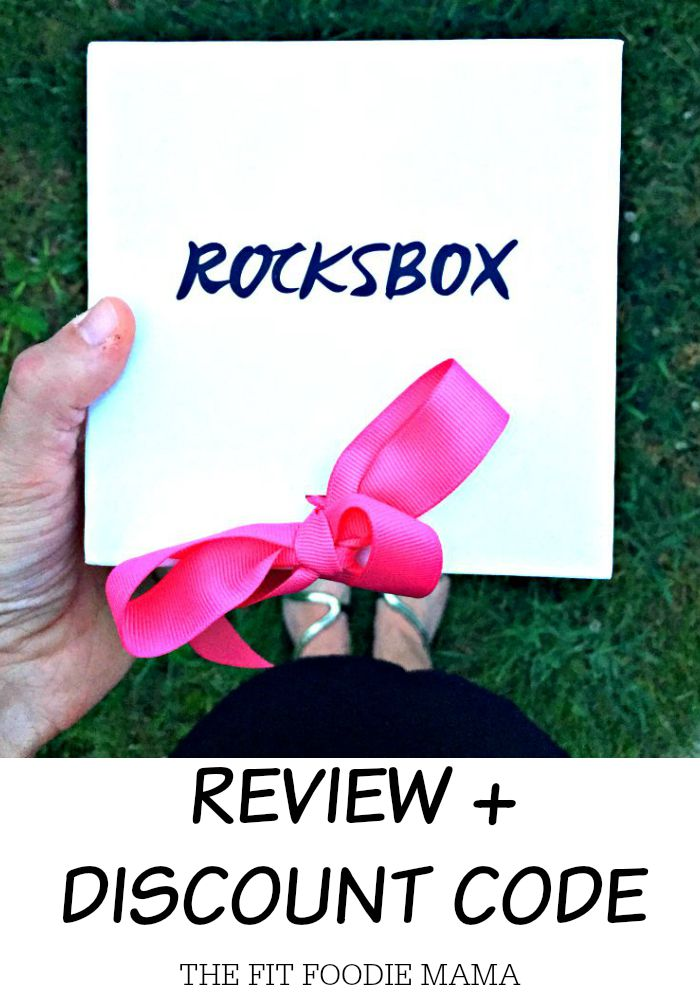 Rocksbox Review + Discount Code.  Save with code: fitfoodiemamaxoxo
