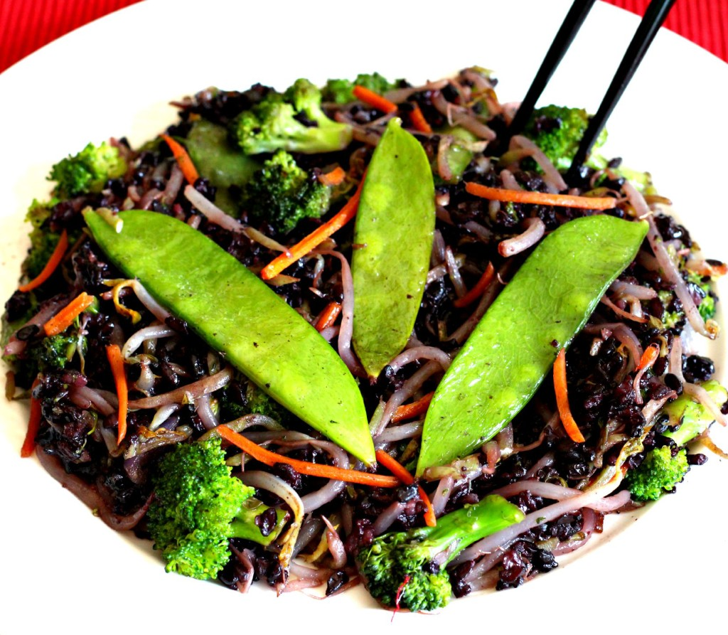 Forbidden Black Rice Stir Fry | The Fit Foodie MamaThe Fit Foodie Mama ...