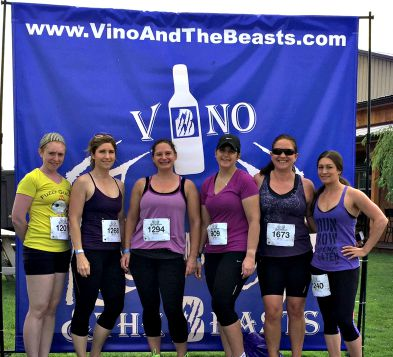 Vino and the Beasts 5k Vineyard Race Recap