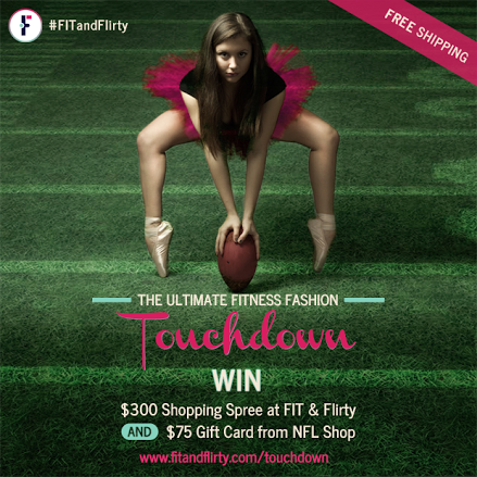 Fit & Flirty NFL Ultimate Fitness Fashion Giveaway!
