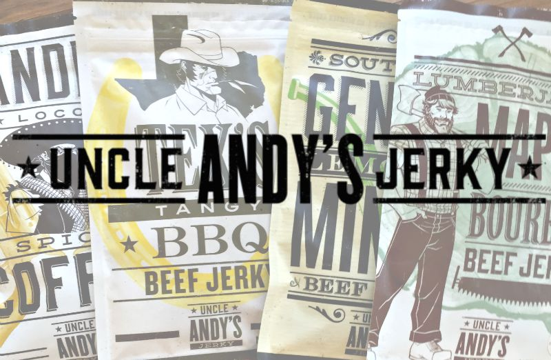 Uncle Andy's Jerky Review + Giveaway