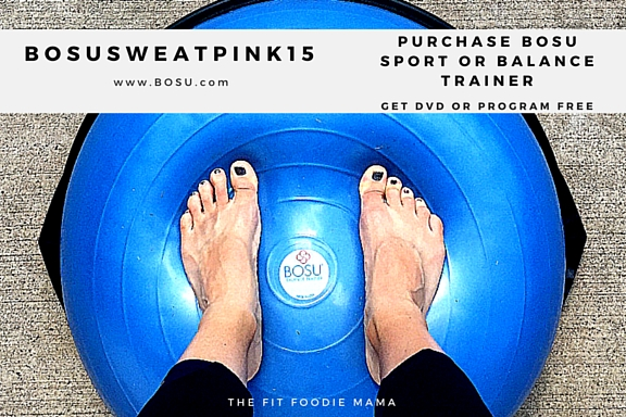 BOSU Sweatpink Discount! #BOSUstrong #sweatpink @fitapproach