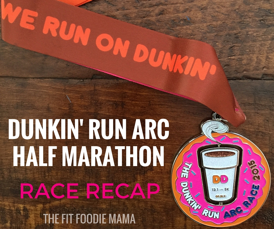 Dunkin' Run ARC Half Marathon Race Recap
