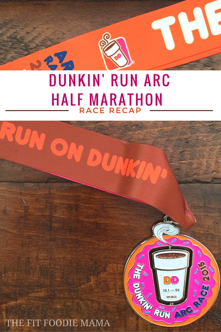 The DUNKIN' ARC Half Marathon Race Recap {Running, #RunChat, Race Recap, Runs On Dunkin, Run for Donuts, PR}