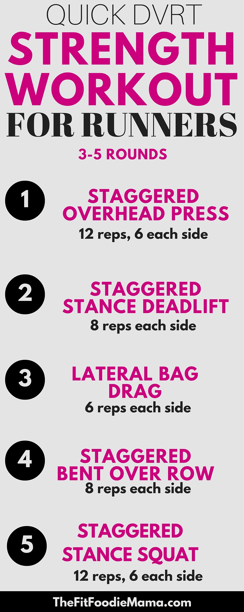 Quick DVRT Ultimate Sandbag Strength Training Workout for Runners {Functional Training, Functional Fitness, Best Running Workout, Cross Training, Wild Workout Wednesday}