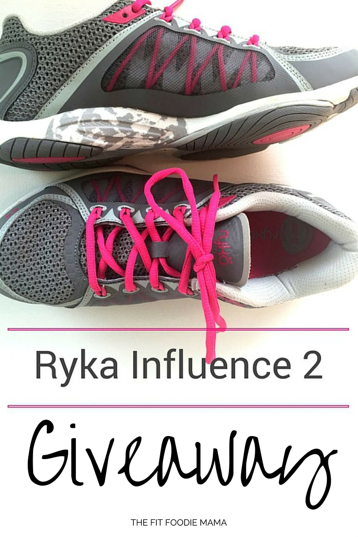 Ryka Influence 2 Giveaway, Training Shoe, Cross Training, Exercise Shoe, Fitness, Fashion, Fit & Fashionable