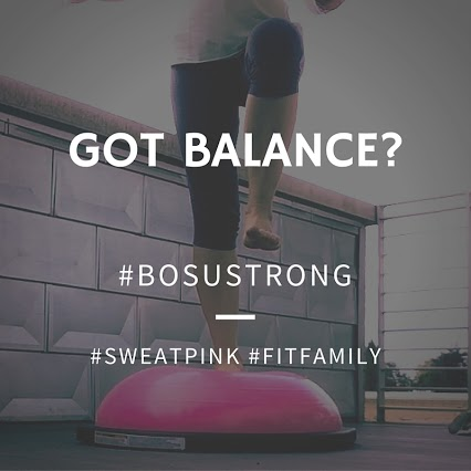 #BOSUstrong #sweatpink @fitapproach