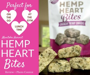Manitoba Harvest Hemp Heart Bites Review + Photo Contest #hhbites #sweatpink