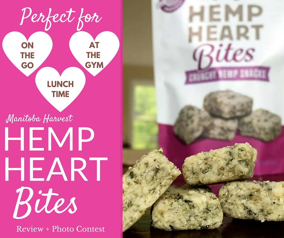 Hemp Heart Bites: Portable & Perfect for On-The-Go Snacking!