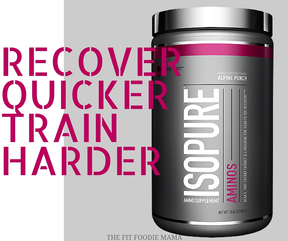 Recover Quicker With ISOPURE Aminos