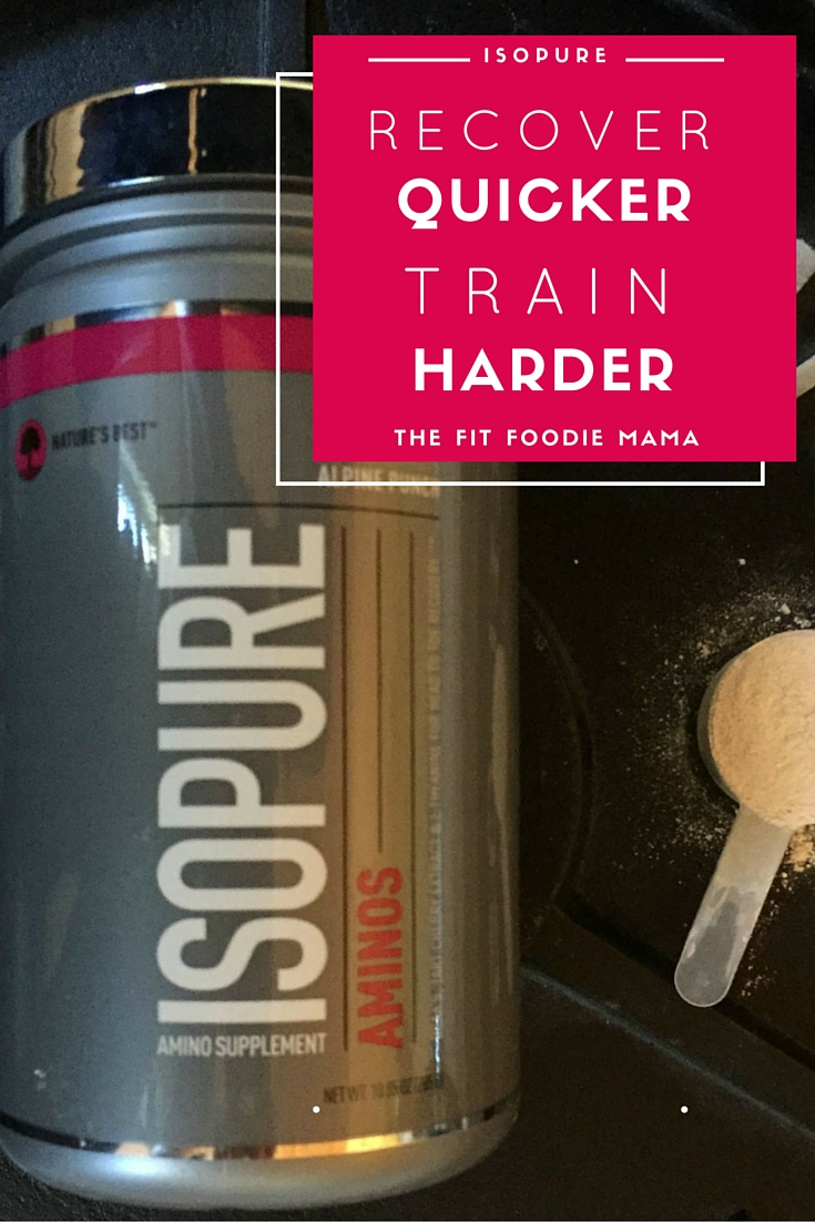 Recover Faster. Train Harder with ISOPURE Aminos