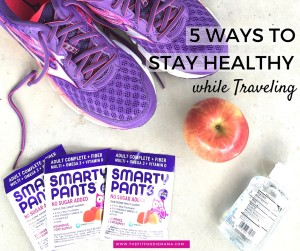 How To Stay Healthy While Traveling {SmartyPants Vitamins, Giveaway}
