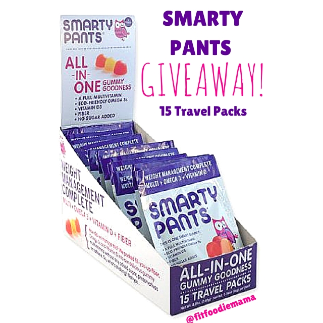 SmartyPants Vitamins Giveaway