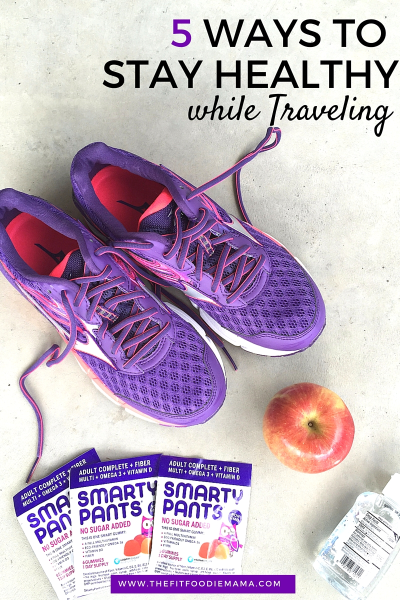 5 Ways To Stay Healthy While Traveling {SmartyPants Vitamins Giveaway}