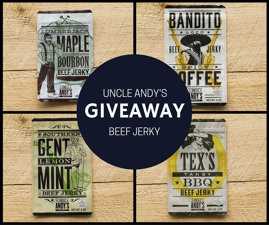 Honestly Delicious: Uncle Andy's Jerky Review + Giveaway