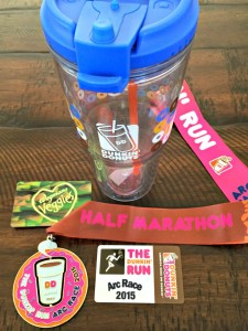 Dunkin ARC Half Marathon Winnings
