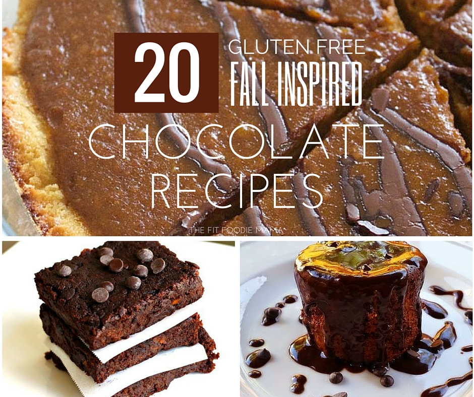 Foodie Friday: 20 Fall Inspired Gluten Free Chocolate Recipes