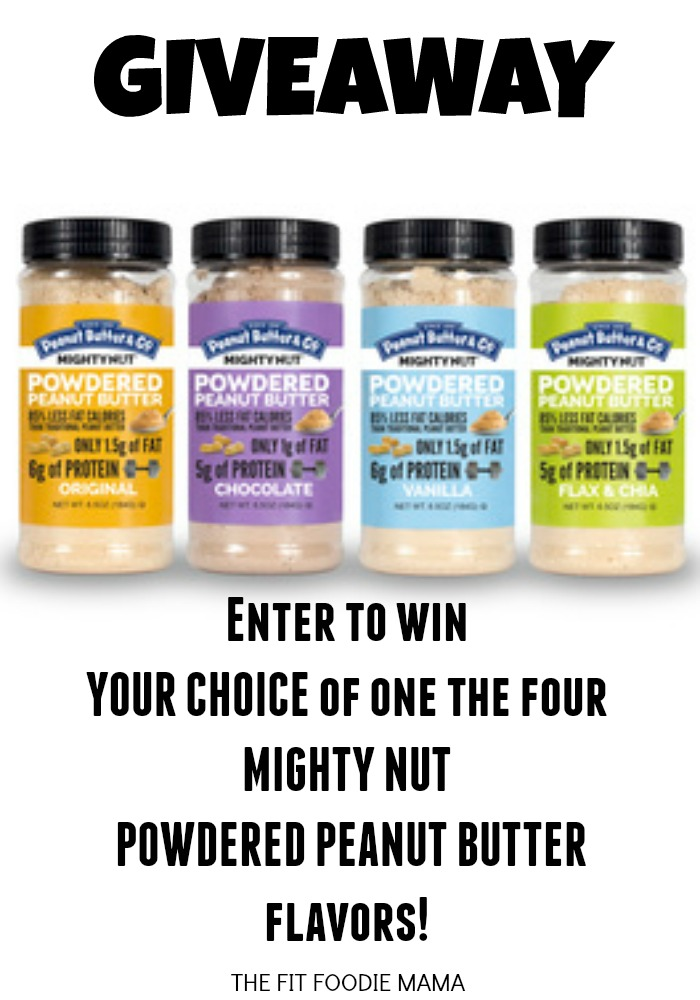 Mighty Nut Giveaway @FitFoodieMama