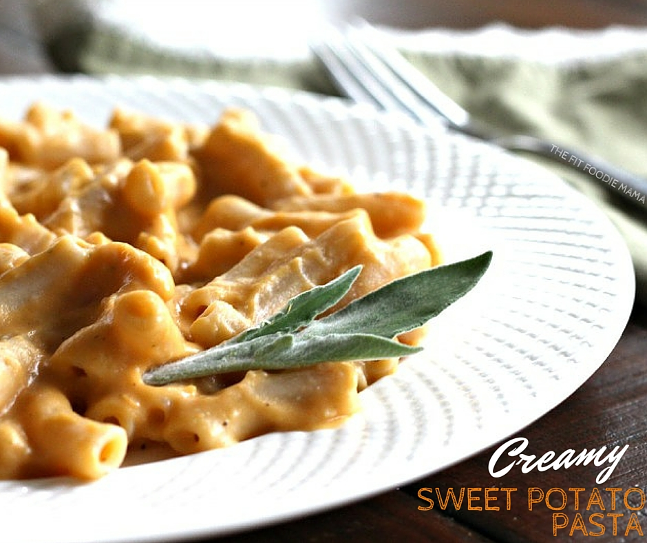 Foodie Friday: Creamy Sweet Potato Pasta