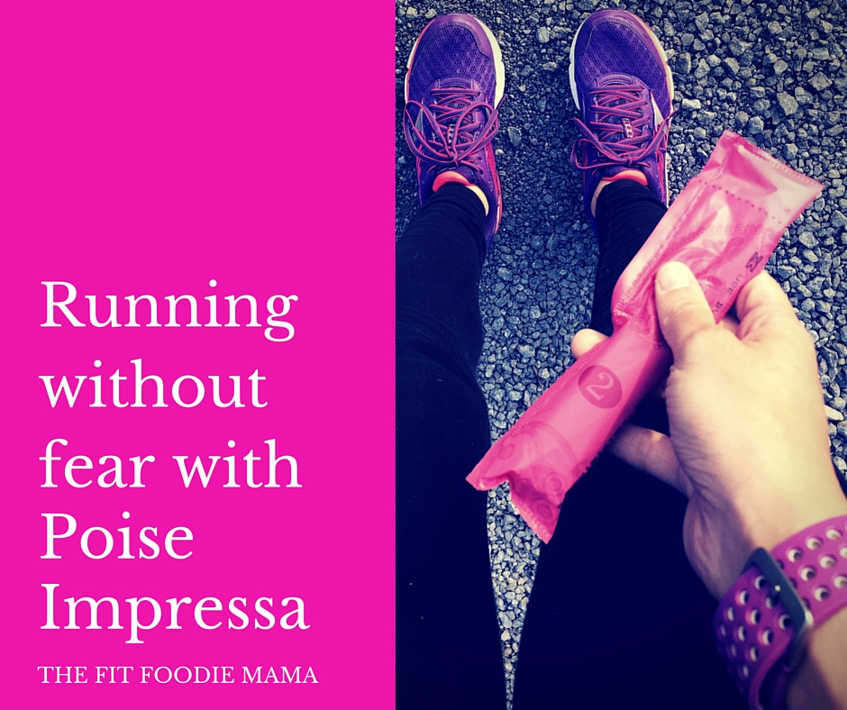 Running Without Fear with Poise Impressa