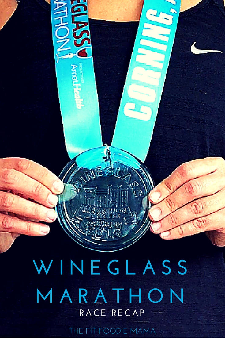 The Five Stages of Running A Marathon: Wineglass Marathon Race Recap {#RunChat, #FitFluential, Marathon like giving birth}