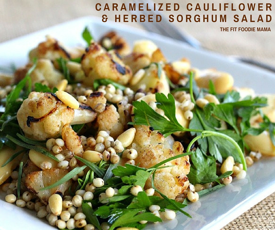 Caramelized Cauliflower & Herbed Sorghum Salad