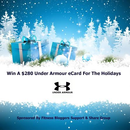 Win a $280 Under Armour eCard for the Holidays!