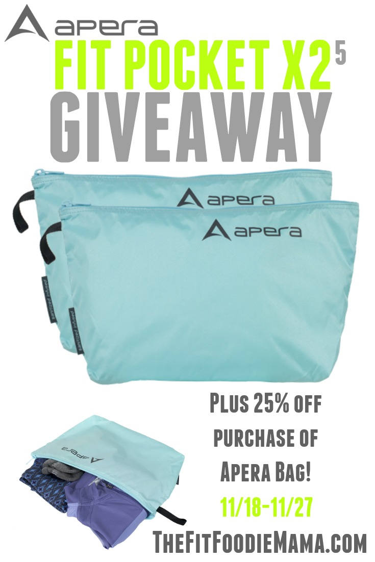 Apera Bags Fit Pocket Giveaway