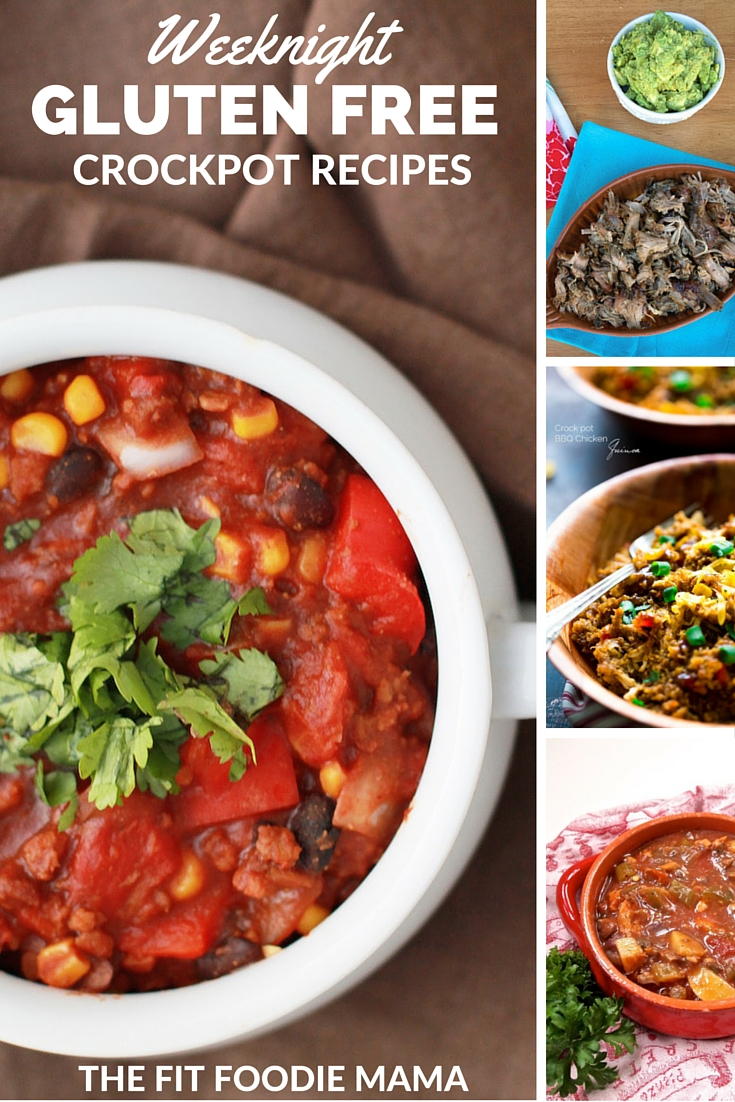 Weeknight Gluten Free Crockpot Meals and Recipes via #FitFluential Ambassadors