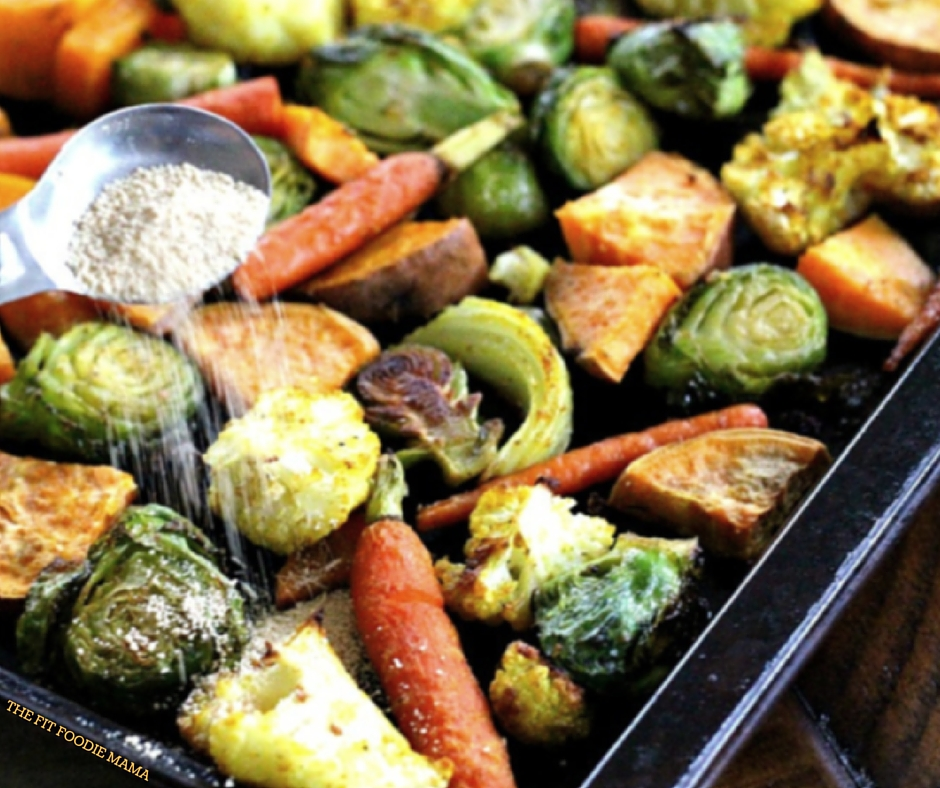 Foodie Friday: Honey & Curry Roasted Harvest Veggies
