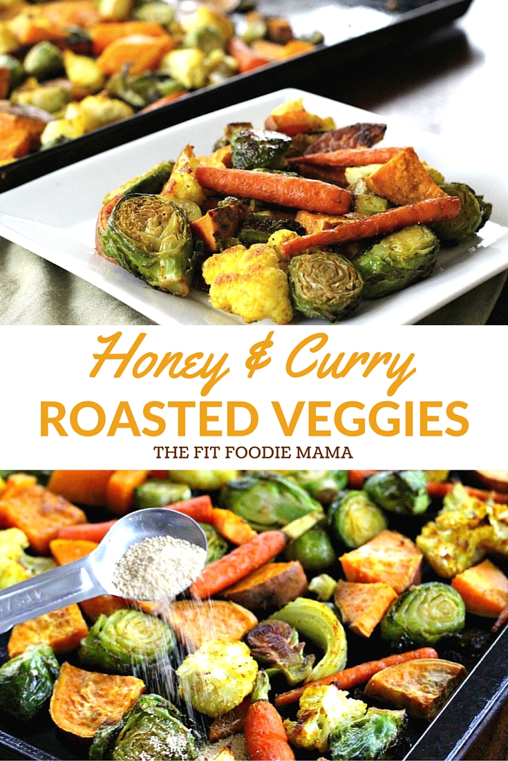 Honey and Curry Roasted Harvest Veggies (Roasted Vegetables, Nektar Naturals Honey Crystals, Fall Veggie, Dinner Recipe, Gluten Free, Vegetarian, Thanksgiving side dish}