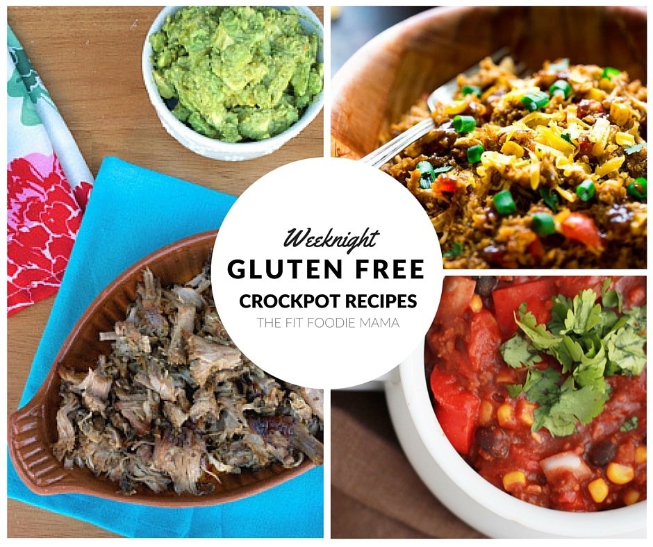 Foodie Friday: Gluten Free Crockpot Recipes for When Don't Feel Like Cooking