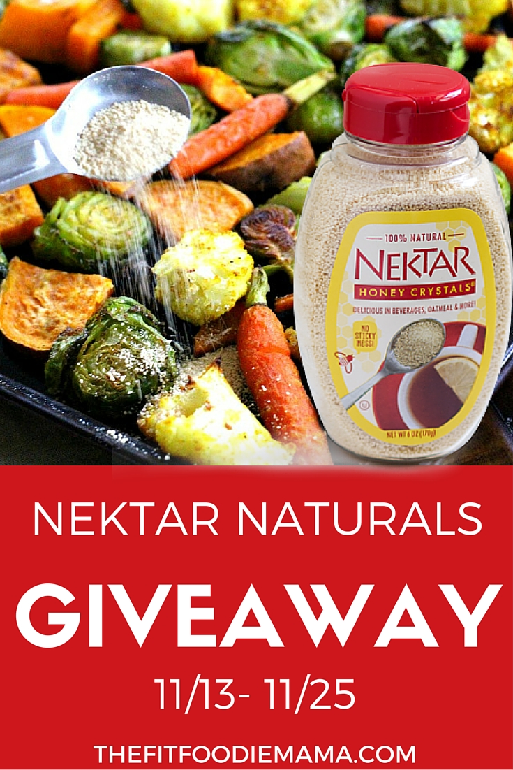 Nektar Naturals Honey Crystals Giveaway