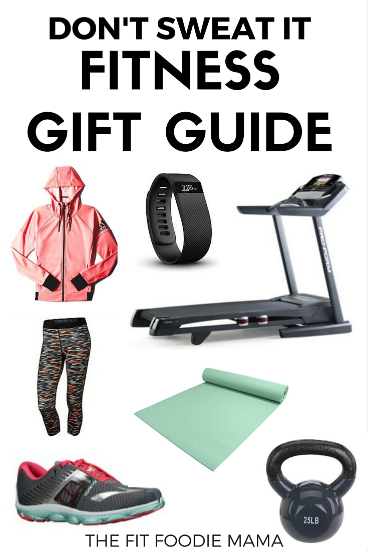 Don't Sweat It Fitness Gift Guide using Groupon Coupons this Holiday Season