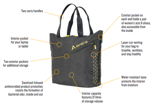 Apera Studio Tote Features