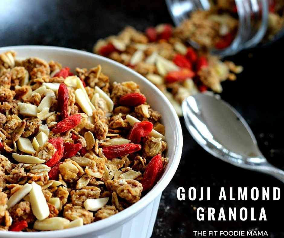Foodie Friday: Goji Almond Granola