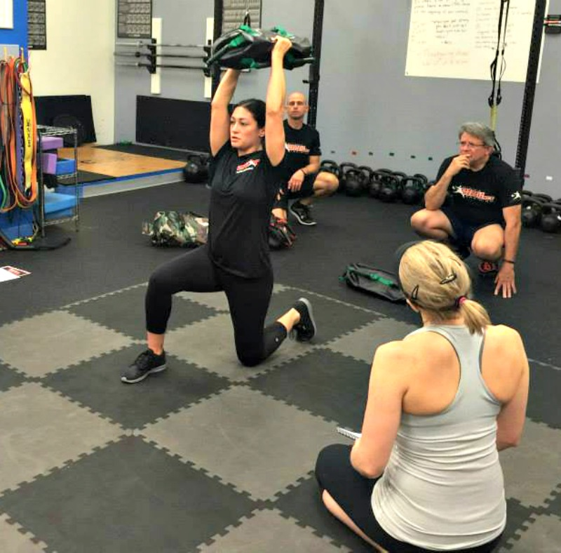 DVRT Level 1 Certification Half Kneeling Arc Press