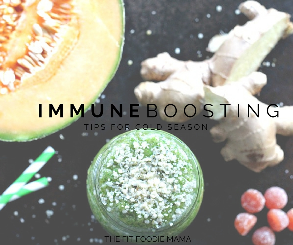 Immune Boosting Tips for Cold Season {+ Giveaway}