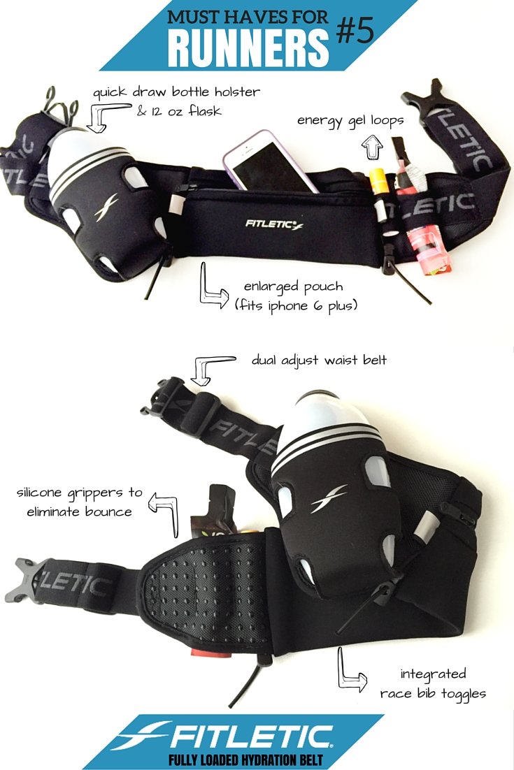 Must Have For Newbie Runners: Fitletic Fully Loaded Hydration Belt