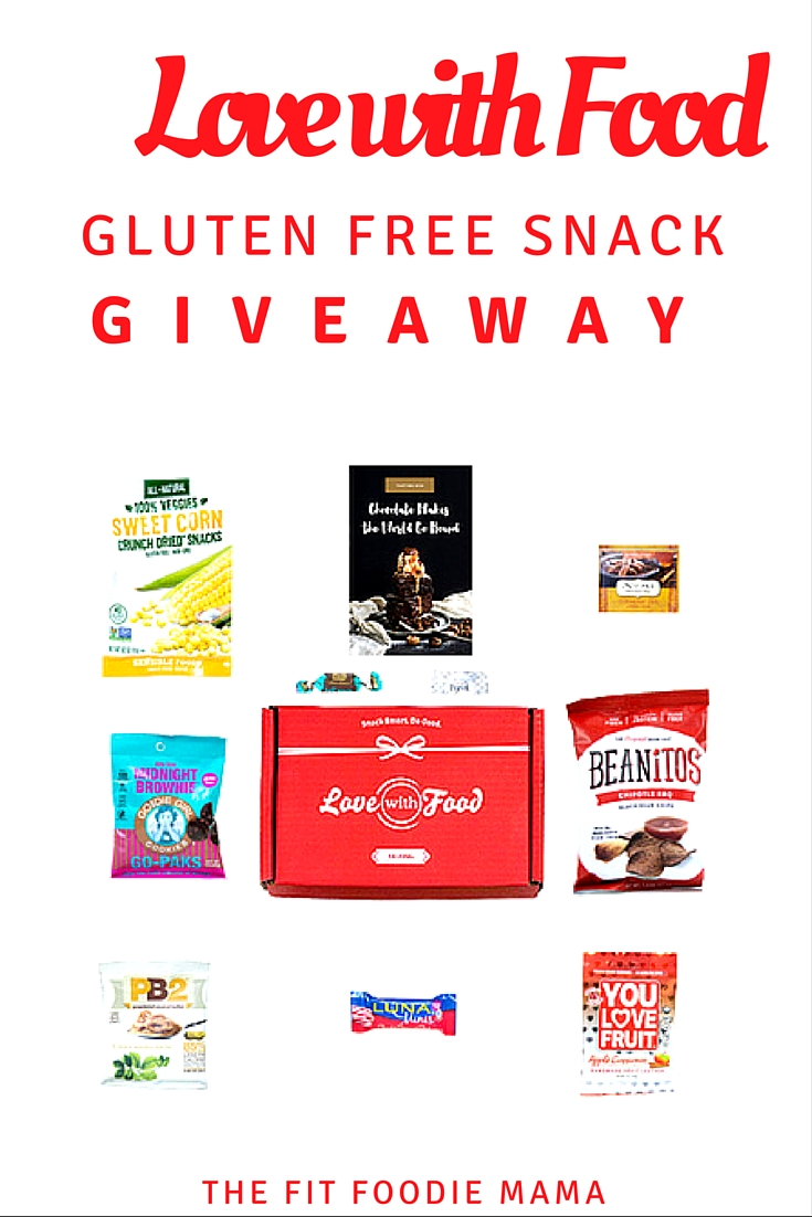 Love With Food Gluten Free Snack Box Giveaway