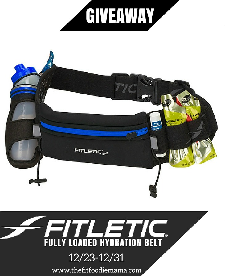Fitletic Fully Loaded Hydration Belt Giveaway