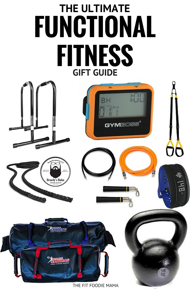 The Ultimate Functional Fitness Gift Guide: DVRT Ultimate Sandbag, Lebert Equalizers, Kettlebells, TRX Suspension Trainer, Crossropes, Battle Ropes, Gymboss, Mio Global Heart Rate Watch, The Beardy Apothecary,