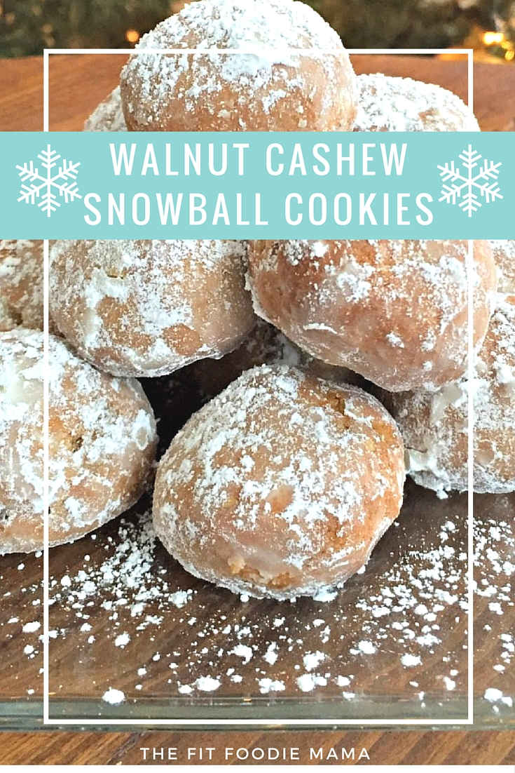 Gluten Free and Dairy Free (Vegan Option) Snowball/ Butterball Cookie Recipe