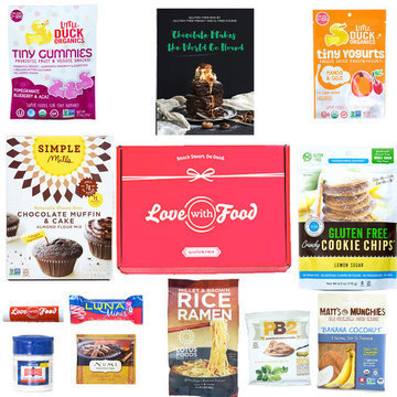 Gluten Free Love with Food Box