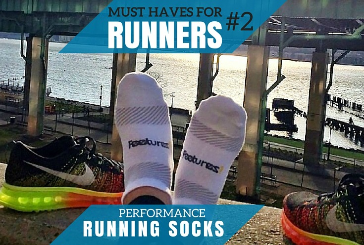 Must Haves For Newbie Runners: Performance Socks #FeeturesRunning