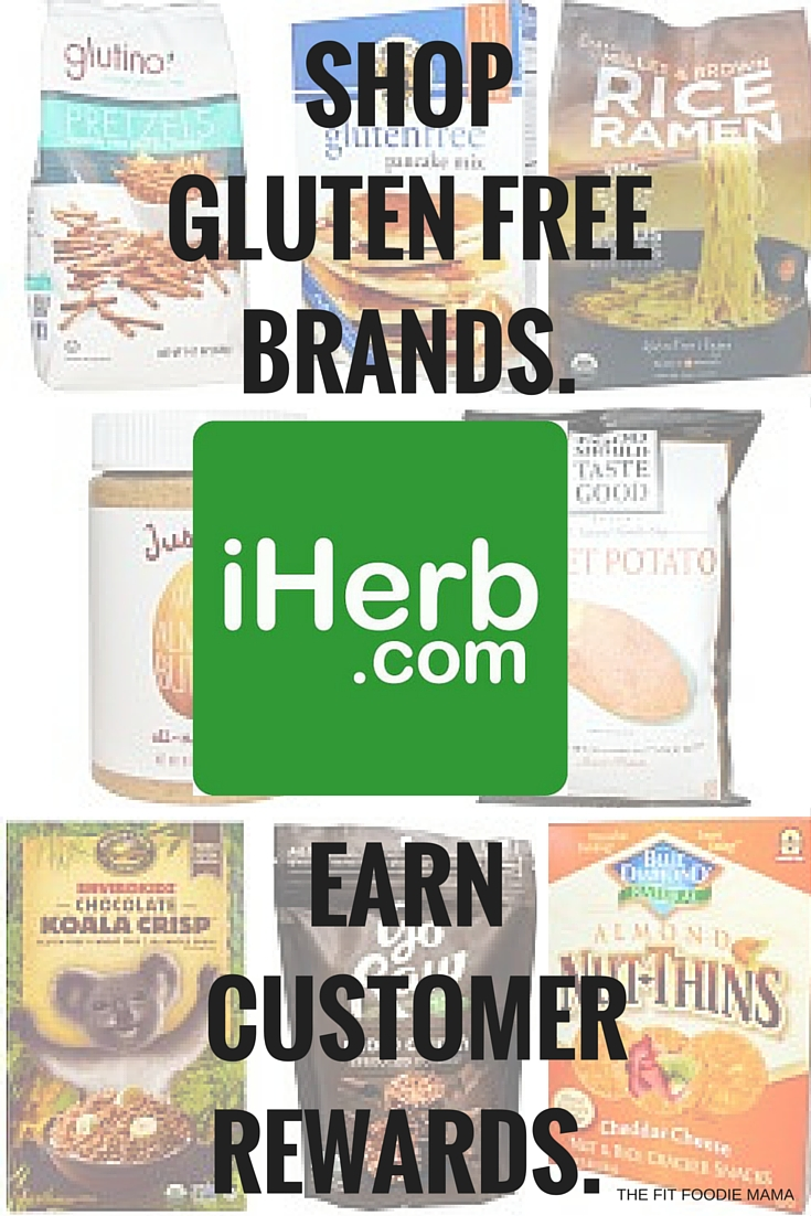 Shop iHerb.com for gluten free products and save with code PVH941! PLUS win an iHerb.com Shopping Spree!