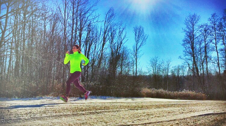 Conquer your winter running goals with the right cold weather gear! #DSGFit4U #ad