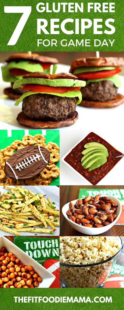 SCORE! Serve touchdown worth healthy gluten free and vegan recipes for game day! {SuperBowl 50 recipes, paleo, dairy free} TheFitFoodieMama.com