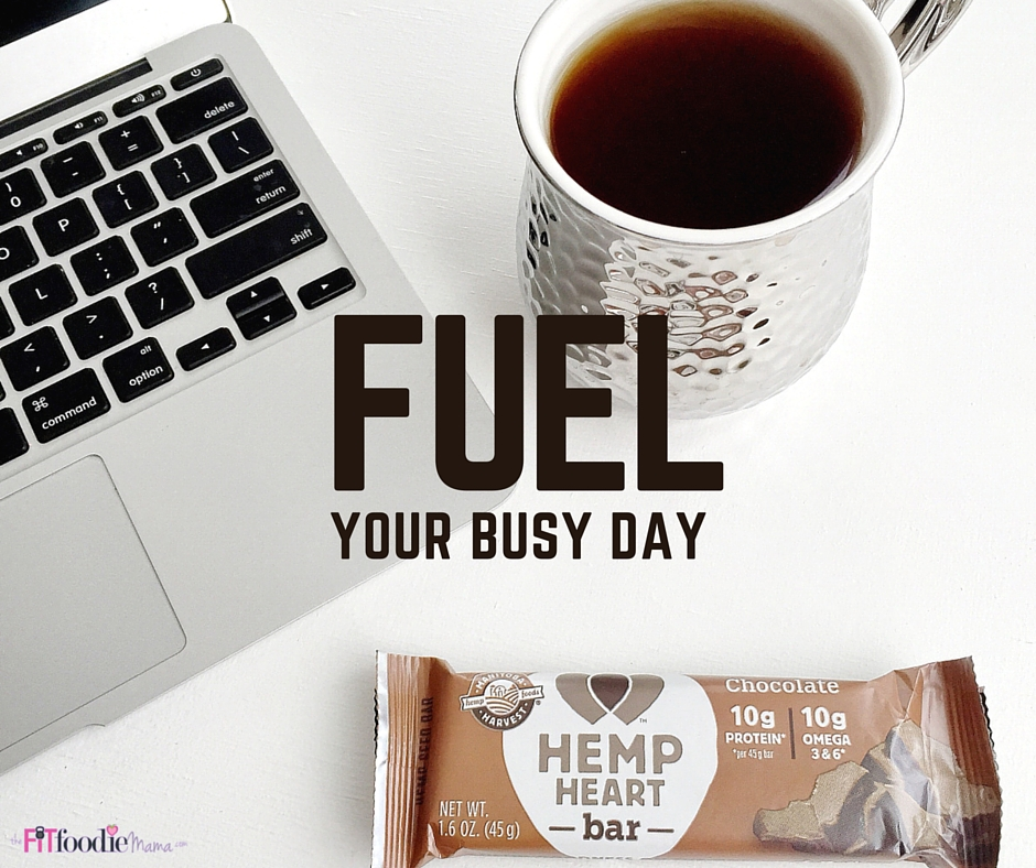 Fuel Your Busy Day With Hemp Heart Bars!