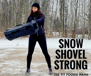 DVRT Ultimate Sandbag Snow Strong Workout. Snow Shovel Workout for functional fitness and training. Use this workout to prepare for real life strength such as shoveling snow. Exercises such as the overhead press, bear hug cleans, bear hug squats and shoveling help to train for both strength and endurance. Be functionally strong, not just gym strong.